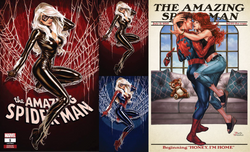 AMAZING SPIDER-MAN #1 MARK BROOKS VARIANT COVERS 4 PACK 7/25/2018