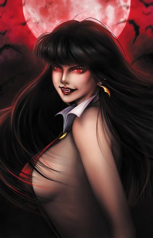 VAMPIRELLA #2 UNKNOWN COMICS ANNA ZHUO EXCLUSIVE VIRGIN (08/21/2019)