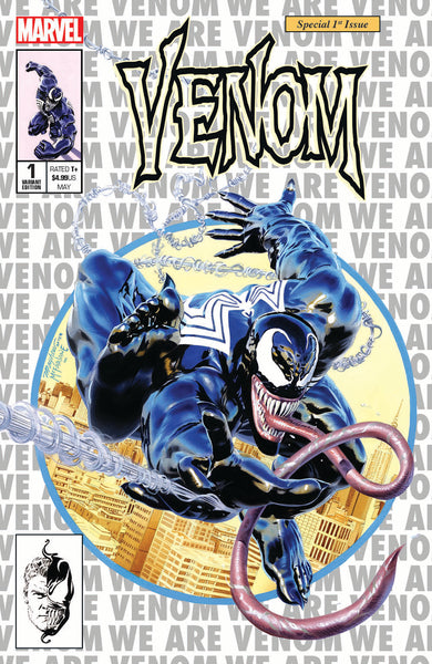 VENOM #1 UNKNOWN COMIC BOOKS & KRS EXCLUSIVE MAYHEW SILVER 5/9/2018