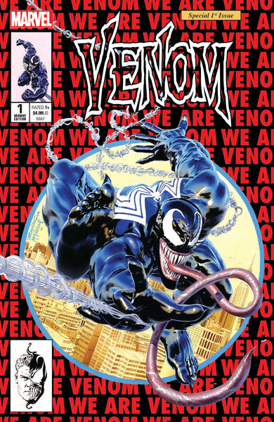 VENOM #1 UNKNOWN COMIC BOOKS & KRS EXCLUSIVE MAYHEW 5/9/2018