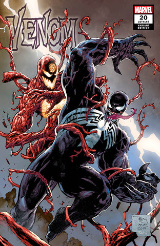 VENOM #20 UNKNOWN COMICS TONY DANIELS EXCLUSIVE VAR AC (11/27/2019)