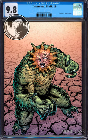 IMMORTAL HULK #19 UNKNOWN COMICS CUSTOMER APPRECIATION EXCLUSIVE VIRGIN CGC 9.8 BLUE LABEL (9/30/2019)