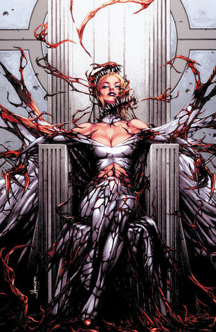 UNCANNY X-MEN #22 CARNAGE-IZED ANACLETO EXCLUSIVE VAR VIRGIN (07/17/2019)
