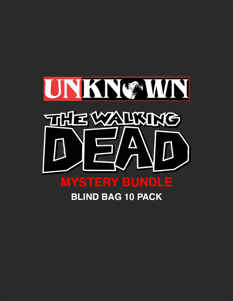 MYSTERY WALKING DEAD BLIND BAG COVER 10 PACK BUNDLE (05/27/2020)