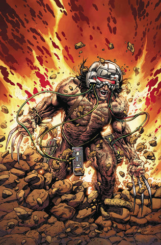 RETURN OF WOLVERINE #1 (OF 5) MCNIVEN WEAPON X COSTUME VIRGIN VAR 1:600 9/12/2018