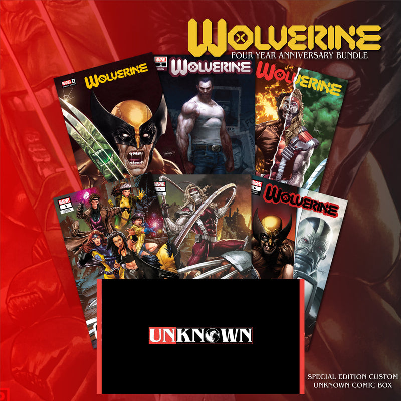 UNKNOWN COMICS WOLVERINE 6 PACK EXCLUSIVES ANNIVERSARY SALE (10/21/2020)