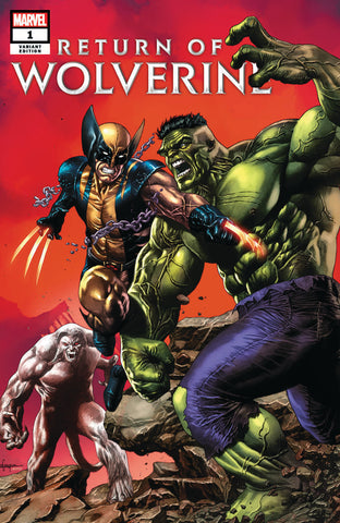 RETURN OF WOLVERINE #1 (OF 5) UNKNOWN COMIC BOOKS MICO SUAYAN CVR A 9/19/2018