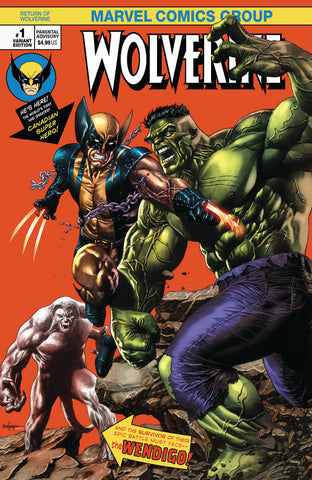 RETURN OF WOLVERINE #1 (OF 5) UNKNOWN COMIC BOOKS NYCC MICO SUAYAN EXCLUSIVE VAR 10/17/2018