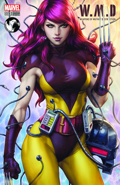 WEAPONS OF MUTANT DESTRUCTION #1 UNKNOWN COMIC BOOKS EXCLUSIVE ARTGERM