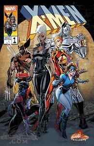 X-MEN GOLD #1 J. SCOTT CAMPBELL EXCLUSIVES CVR B