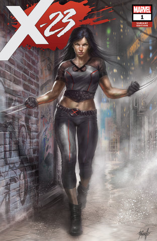 X-23 #1 UNKNOWN COMIC BOOKS EXCLUSIVE PARRILLO CVR A 7/11/2018