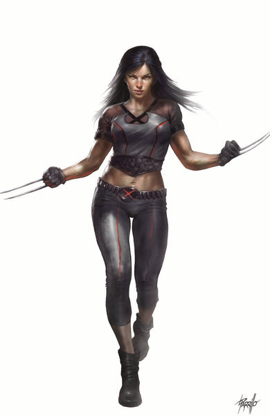 X-23 #1 UNKNOWN COMIC BOOKS CONVENTION EXCLUSIVE PARRILLO 7/18/2018