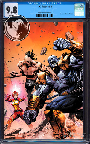 X-FACTOR #1 UNKNOWN COMICS KAEL NGU EXCLUSIVE VIRGIN VAR CGC 9.8 BLUE LABEL (12/30/2020)