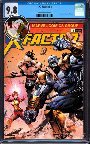 X-FACTOR #1 UNKNOWN COMICS KAEL NGU EXCLUSIVE VAR CGC 9.8 BLUE LABEL (12/30/2020)