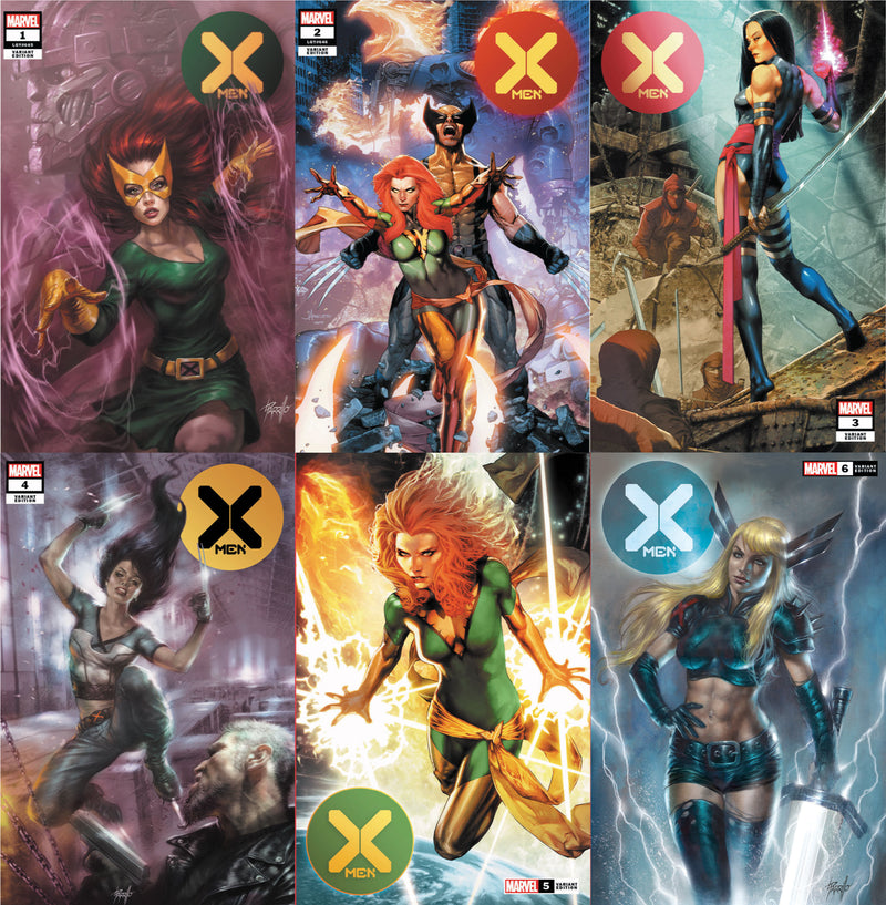 X-MEN NEW SERIES #1-#6 6 EXCLUSIVES 6 PACK (02/26/2020)