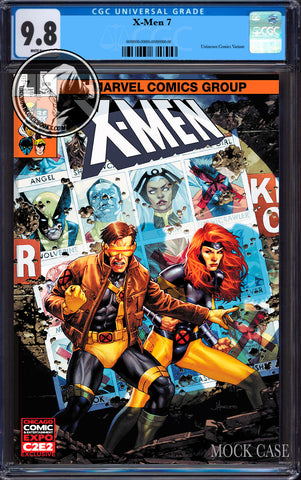 X-MEN #7 UNKNOWN COMIC JAY ANACLETO EXCLUSIVE C2E2 VAR DX CGC 9.8 BLUE LABEL (07/29/2020)
