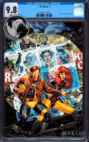 X-MEN #7 UNKNOWN COMIC JAY ANACLETO EXCLUSIVE VIRGIN VAR DX CGC 9.8 BLUE LABEL (07/29/2020)