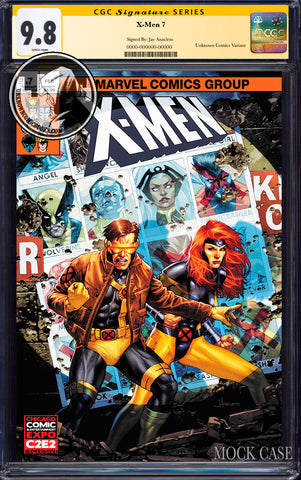 X-MEN #7 UNKNOWN COMIC JAY ANACLETO EXCLUSIVE C2E2 VAR DX CGC 9.8 SS YELLOW LABEL (07/29/2020)