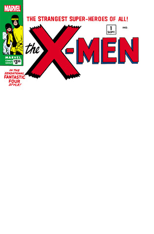 X-MEN #1 FACSIMILE EDITION BLANK EXCLUSIVE (07/10/2019)