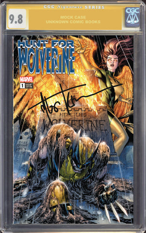 HUNT FOR WOLVERINE #1 UNKNOWN COMIC BOOKS 9.8 CGC SIGNATURE SERIES YELLOW LABEL KIRKHAM EXCLUSIVE 8/1/2018