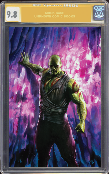 INFINITY COUNTDOWN #3 (OF 5) UNKNOWN COMIC BOOKS 9.8 CGC SS YELLO LABEL GRANOV EXCLUSIVE 7/1/2018