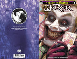 JOKER YEAR OF THE VILLAIN #1 UNKNOWN COMICS RYAN BROWN EXCLUSIVE (10/09/2019)