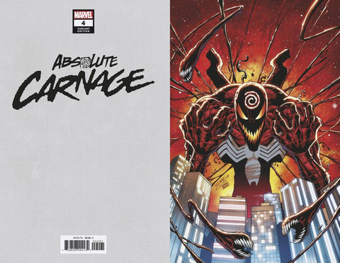 ABSOLUTE CARNAGE #4 (OF 5) LIM VIRGIN 1:200 (11/27/2019)