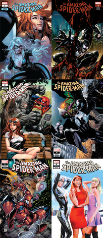 AMAZING SPIDER-MAN #1 #2 #3 #4 #5 #6 UNKNOWN COMIC BOOKS EXCLUSIVE BUNDLE 10/24/2018