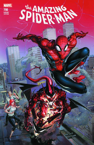 AMAZING SPIDER-MAN #798 LEG COMICXPOSURE CLAYTON CRAIN 4/4/2018