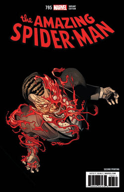 AMAZING SPIDER-MAN #795 2ND PTG VAR LEG 3/14/2018
