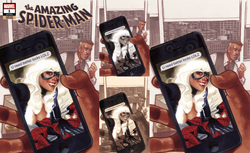 AMAZING SPIDER-MAN #1 ADAM HUGHES EXCLUSIVE 4 PACK VARIANTS 7/25/2018