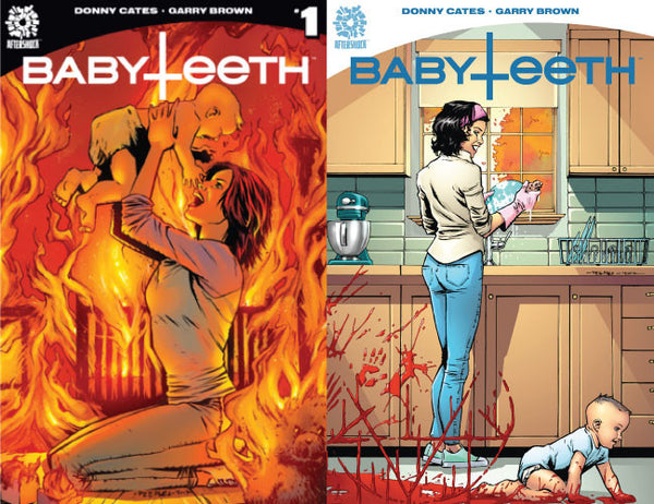 BABYTEETH #1 & #2 UNKNOWN COMIC BOOKS EXCLUSIVE BUNDLE 2PACK CVR A 7/5/2017