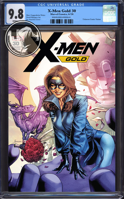 X-MEN GOLD #30 UNKNOWN COMIC BOOKS & KRS COMICS EXCLUSIVE CGC 9.8 BLUE LABEL 10/01/2018