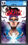 SERA & ROYAL STARS #1 UNKNOWN COMICS ANNA ZHUO EXCLUSIVE CGC 9.8 BLUE LABEL  (10/30/2019)