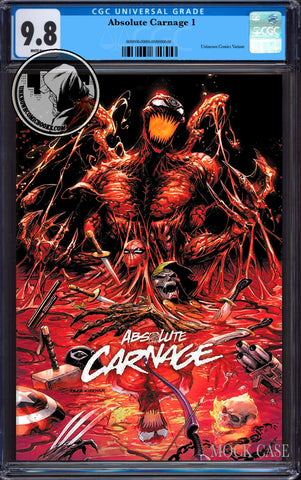 ABSOLUTE CARNAGE #1 (OF 4) TYLER KIRKHAM EXCLUSIVE CGC 9.8 BLUE LABEL (11/30/2019)