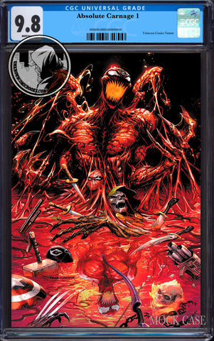 ABSOLUTE CARNAGE #1 (OF 4) TYLER KIRKHAM EXCLUSIVE VIRGIN CGC 9.8 BLUE LABEL (11/30/2019)
