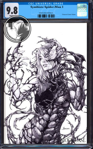 SYMBIOTE SPIDER-MAN #1 (OF 5) JAY ANACLETO PENCILS EXCLUSIVE VIRGIN CGC 9.8 BLUE LABEL  7/30/2019