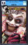 JOKER YEAR OF THE VILLAIN #1 UNKNOWN COMICS RYAN BROWN EXCLUSIVE CGC 9.8 BLUE LABEL (01/30/2019)