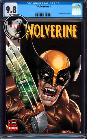 WOLVERINE #1 UNKNOWN COMICS MICO SUAYAN EXCLUSIVE C2E2 VAR DX CGC 9.8 BLUE LABEL (08/26/2020)