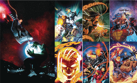 COSMIC GHOST RIDER VAR THEME 19 PACK BUNDLE 10/10/2018