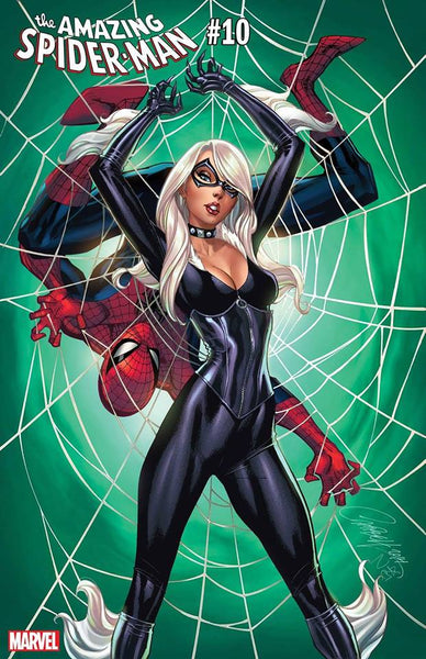 AMAZING SPIDER-MAN #10 J.Scott Campbell Black Cat Variant 11/28/2018