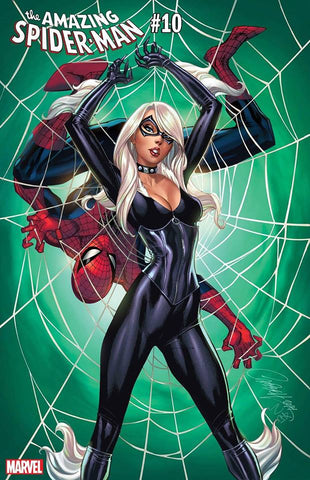 AMAZING SPIDER-MAN #10 J.Scott Campbell Black Cat Variant 1/31/2019 CGC 9.8