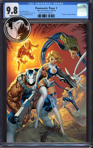 FANTASTIC FOUR #1 VIRGIN CAMPBELL VAR CGC 9.8 BLUE LABEL 12/30/2018