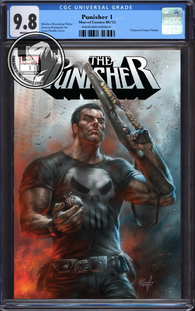 PUNISHER #1 UNKNOWN COMIC BOOKS PARRILLO CGC 9.8 BLUE LABEL 12/30/2018