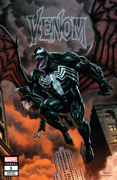 VENOM ANNUAL #1 UNKNOWN COMIC BOOKS SUAYAN EXCLUSIVE CVR A 10/17/2018