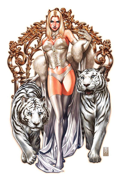 UNCANNY X-MEN #1 MARK BROOKS WHITE QUEEN EXCLUSIVE 11/28/2018