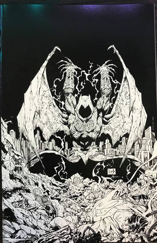DARK NIGHTS METAL #3 (OF 6) TORPEDO COMICS B&W VIR VAR