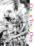 DARK NIGHTS METAL #1 (OF 6) COLOR YOUR OWN UNKNOWN COMIC BOOKS EXCLUSIVE KIRKHAM VAR 8/16/2017