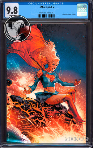 DCEASED #2 (OF 6) UNKNOWN COMIC BOOKS ANACLETO EXCLUSIVE VIRGIN CGC 9.8 BLUE LABEL  (08/30/2019)