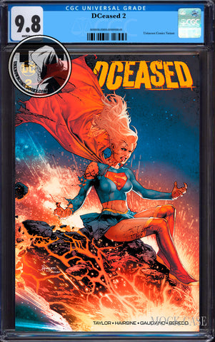 DCEASED #2 (OF 6) UNKNOWN COMIC BOOKS ANACLETO EXCLUSIVE CGC 9.8 BLUE LABEL (08/30/2019)